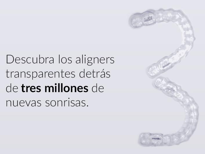 Invisalign®, estética e innovación para el tratamiento de ortodoncia.